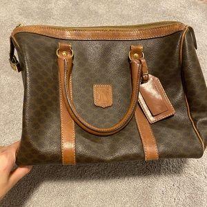 Vintage CELINE Macadam speedy bag